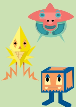Shapes:characters3