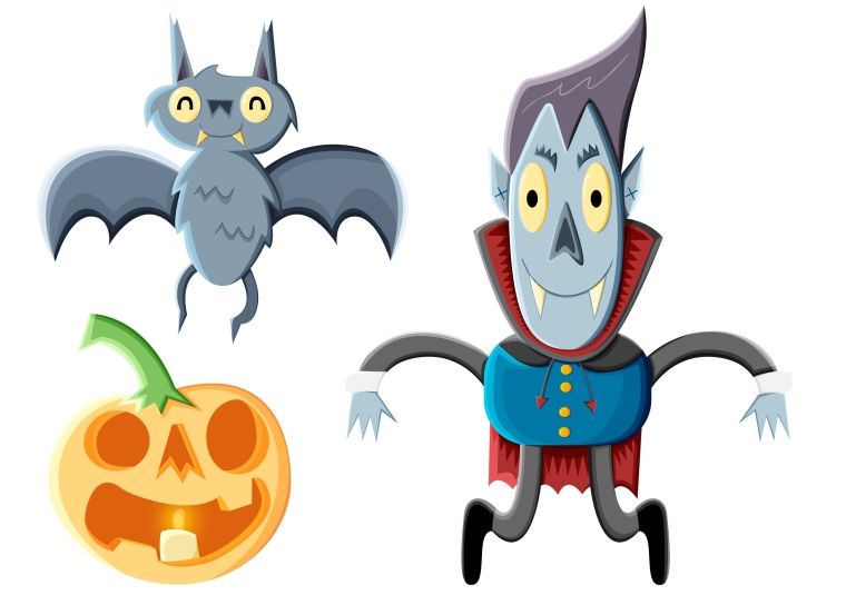 Spooky Characters upload